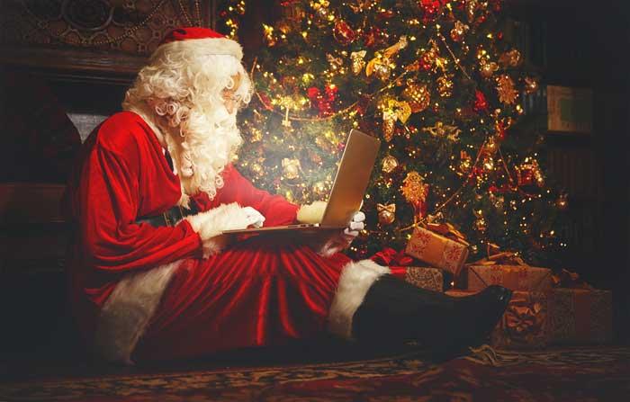 Mikołaj rozmawia online